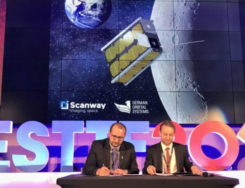 Scanway is sending a satellite to the Moon!