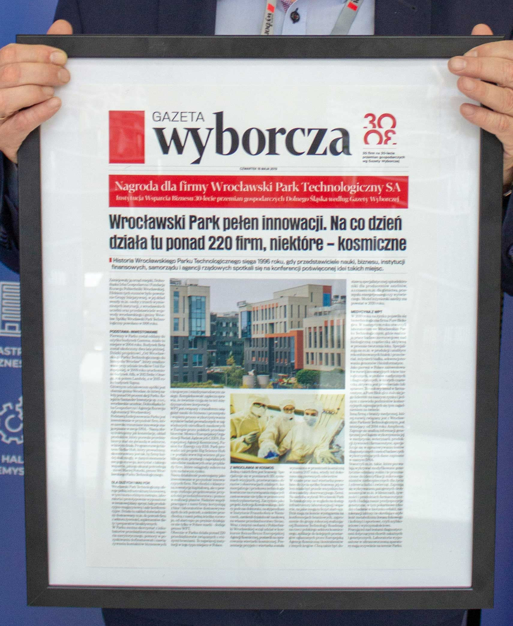 We know the most prominent companies that have contributed to Lower Silesian economy in the last 30 years!