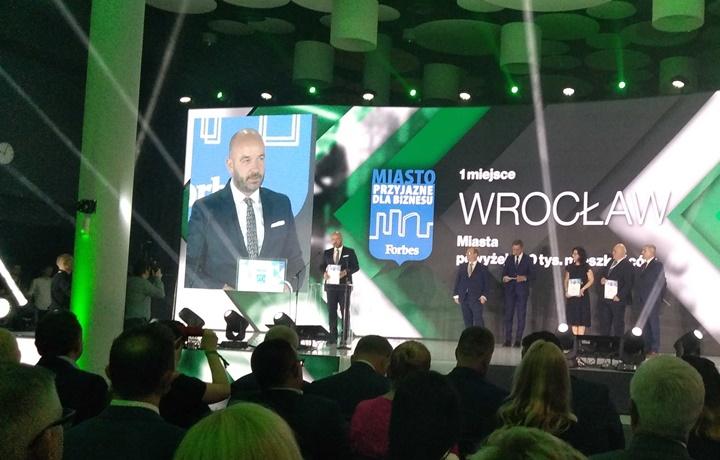 Wrocław najbardziej przyjazny dla biznesu