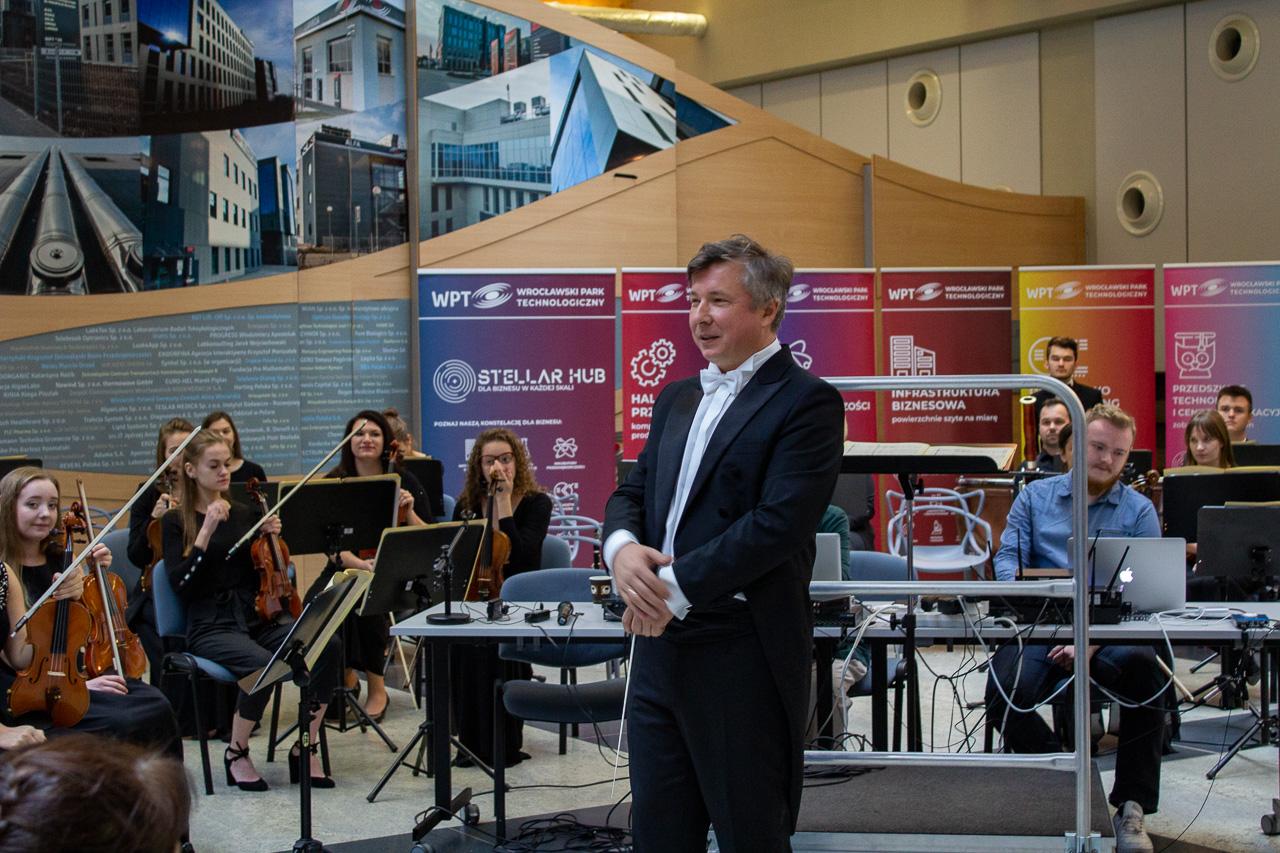 Przedsiębiorstwo jak orkiestra we Wrocławskim Parku Technologicznym