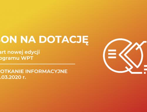 Nowa edycja programu BON NA DOTACJĘ – spotkanie informacyjne