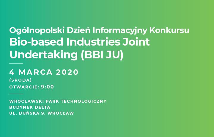 BBI JU National Info Day Poland