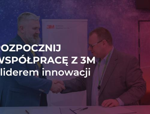 Rozpocznij współpracę z liderem innowacji – firmą 3M