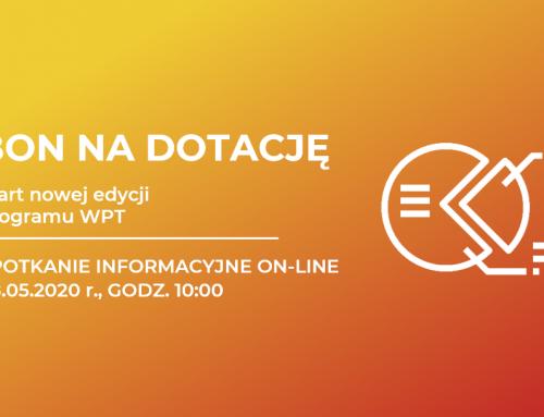 Nowa edycja programu BON NA DOTACJĘ – spotkanie on-line
