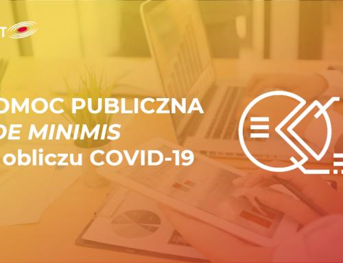 Pomoc publiczna i de minimis w obliczu COVID-19