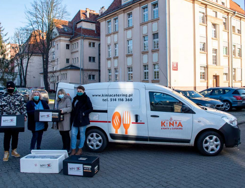 We have already donated 10,000 meals for Wroclaw medics!