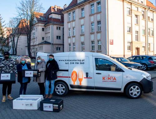 Już 10 tys. posiłków trafiło do wrocławskich medyków!