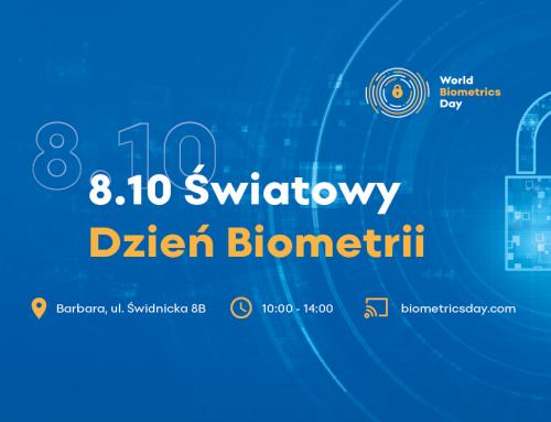 Dzień Biometrii pod patronatem WPT już 8 października!